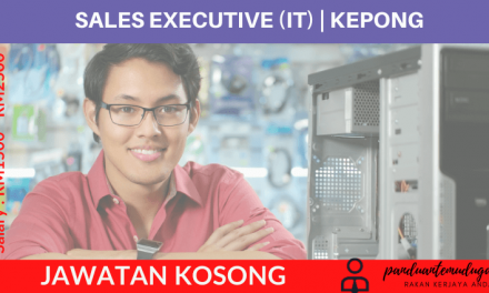 SALES EXECUTIVE (IT) | KEPONG